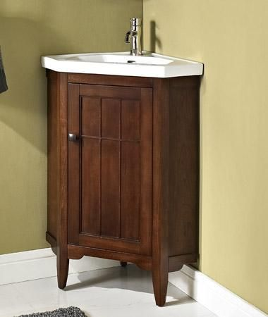 """prairie 26"""" corner vanity & sink set - corner vanity - vanities"""