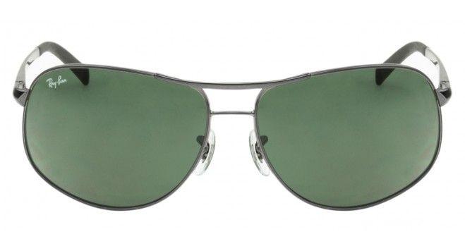 3bd2ba0762dbf Óculos de Sol   Ray Ban RB3387 67 - Prata - 004 71   óculos   Pinterest