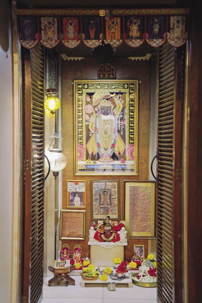 10 Pooja Room Door Designs That Beautify Your Mandir Entrance: Pin On Indian Ethnic Home Decor