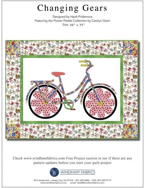 Changing Gears by Heidi Pridemore Windham Fabrics free