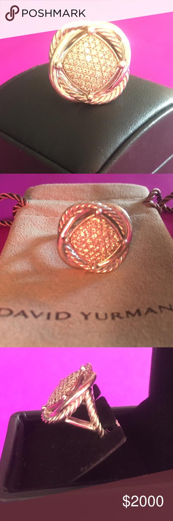 Was stolen on 3/25/17   David yurman, Infinity and Diamond