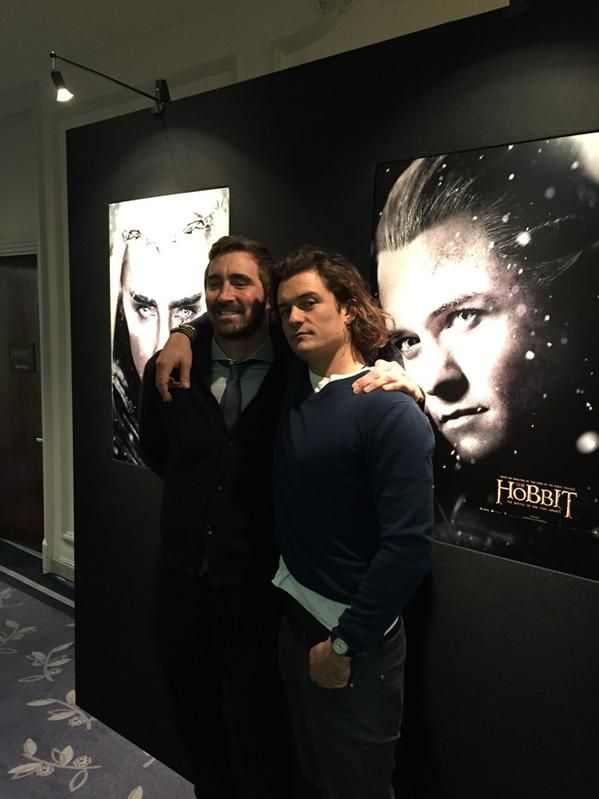 Lee Pace and Orlando Bloom are adorbs!!