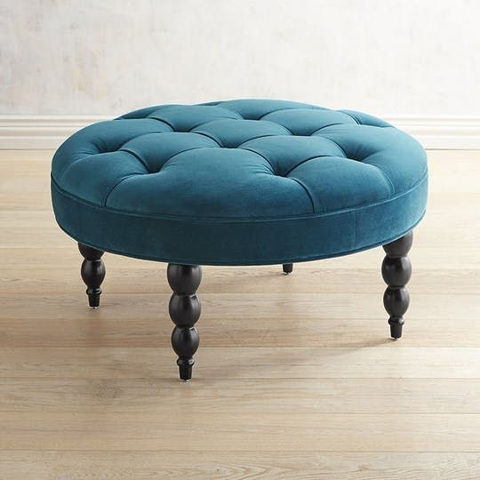 Mapleton Beauty Concepts And Colorways Ottoman In Living Room