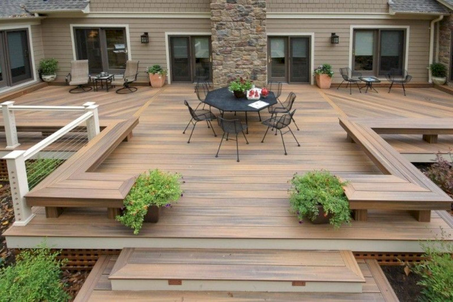 awesome backyard patio design ideas decking patios and backyard