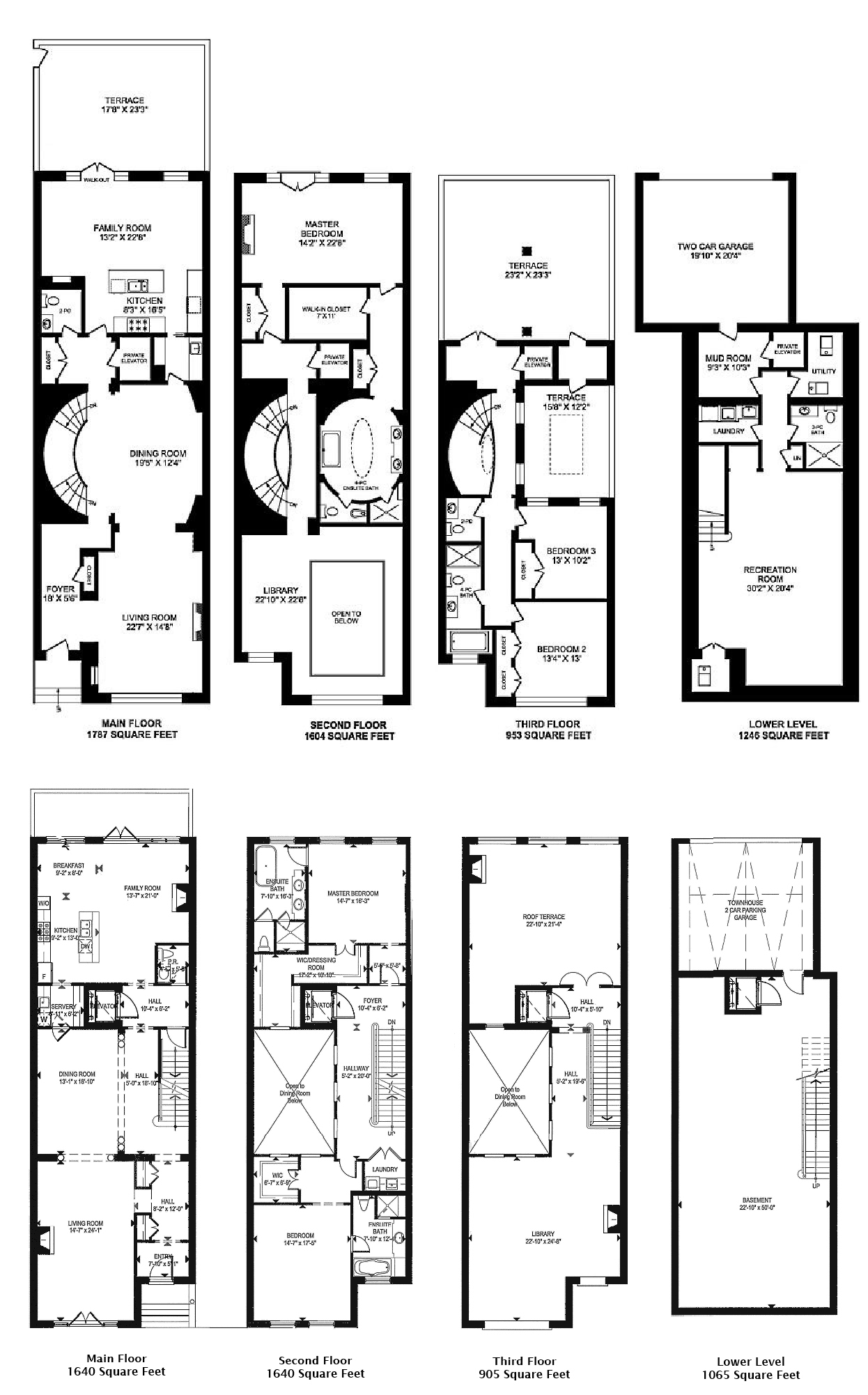 1 St Thomas Condos Townhouses Yorkville Toronto 3 Bedrooms