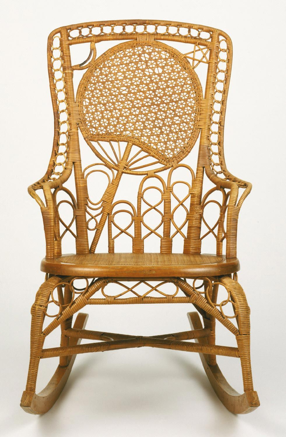 Attrayant Rocking Armchair Made By Heywood Brothers And Company, Gardner,  Massachusetts, 1826   1897 Geography: Made In Gardner, Massachusetts,  United States, ...