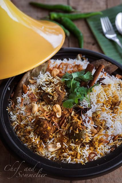 Chef and Sommelier: Dum Mutton Biryani in a Tagine