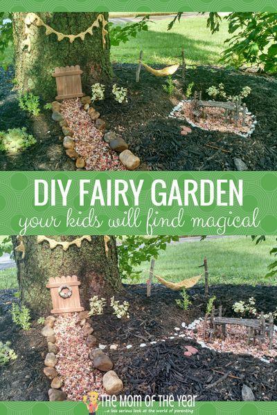 Diy Fairy Garden In 6 Easy Steps Home Gardens Pinterest Fairy