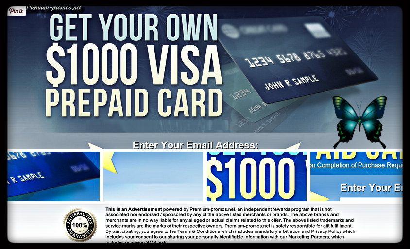 Free $1000 visa gift card