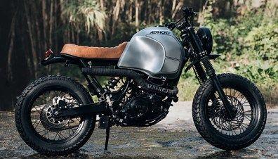 Yamaha XT600 - Corb Motorcycles - Pipeburn