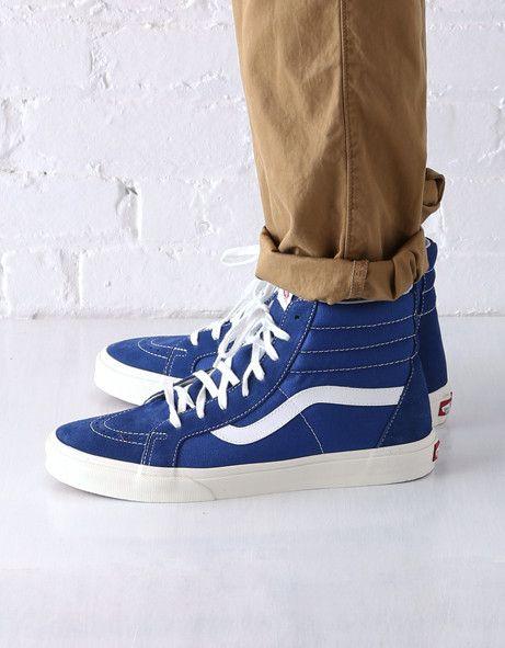 all blue sk8 hi
