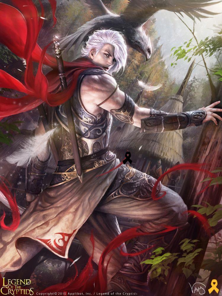 Artist: Yang Mansik aka yam8417 - Title: Unknown - Card: Discio, Kage Leader
