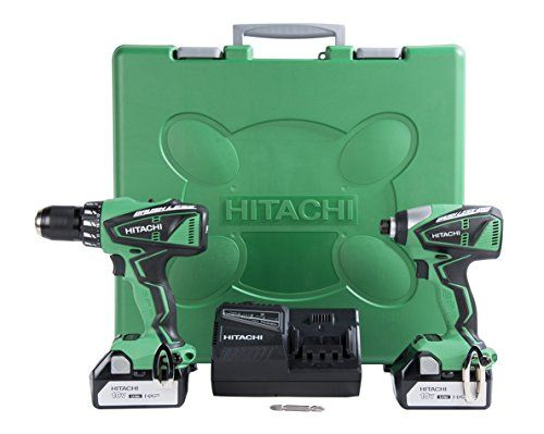 Special Offers - Hitachi KC18DBFL 18-Volt Lithium-Ion Brushless Hammer Drill & Impact Driver Combo Kit (3.0Ah) For Sale - In stock & Free Shipping. You can save more money! Check It (October 30 2016 at 07:22PM) >> http://drillpressusa.net/hitachi-kc18dbfl-18-volt-lithium-ion-brushless-hammer-drill-impact-driver-combo-kit-3-0ah-for-sale/