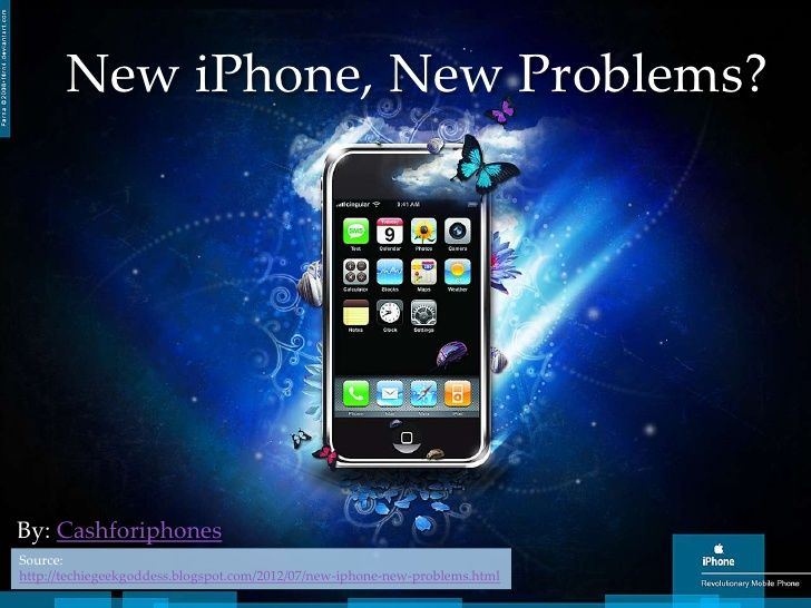 New Iphone New Poblems By Cash4iphones Via Slideshare Ipod Wallpaper Iphone Wallpaper Maker New iphone wallpapers 2012