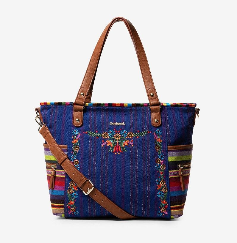 Sac mexicain Mexican Patch Maxton Desigual Sac à Main