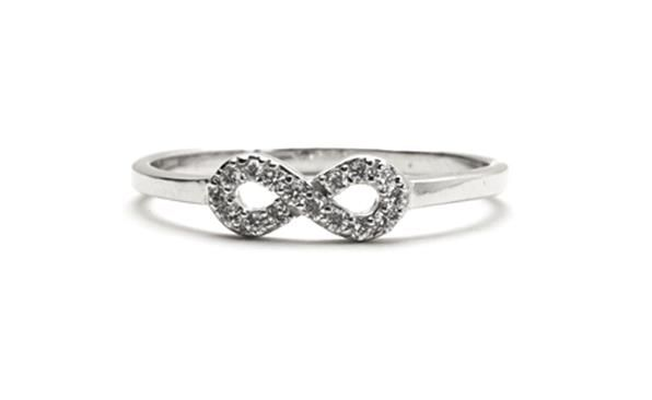 Dainty Infinity Ring from the Dainties Collection httpwwwsterns