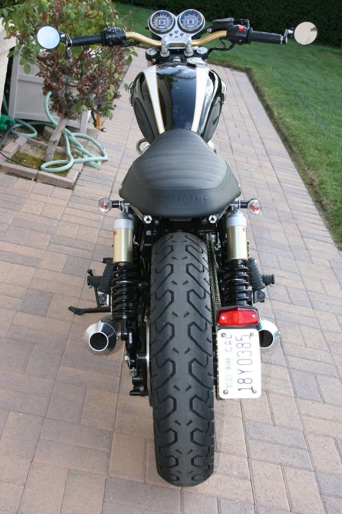 Nick's Triumph Bonneville T100   Joker Machine