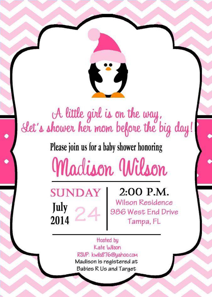 penguin 2 | Baby shower ideas | Pinterest | Penguin baby showers ...
