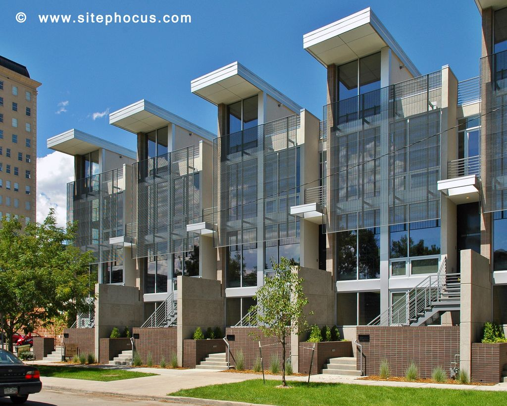 Contemporary Townhomes