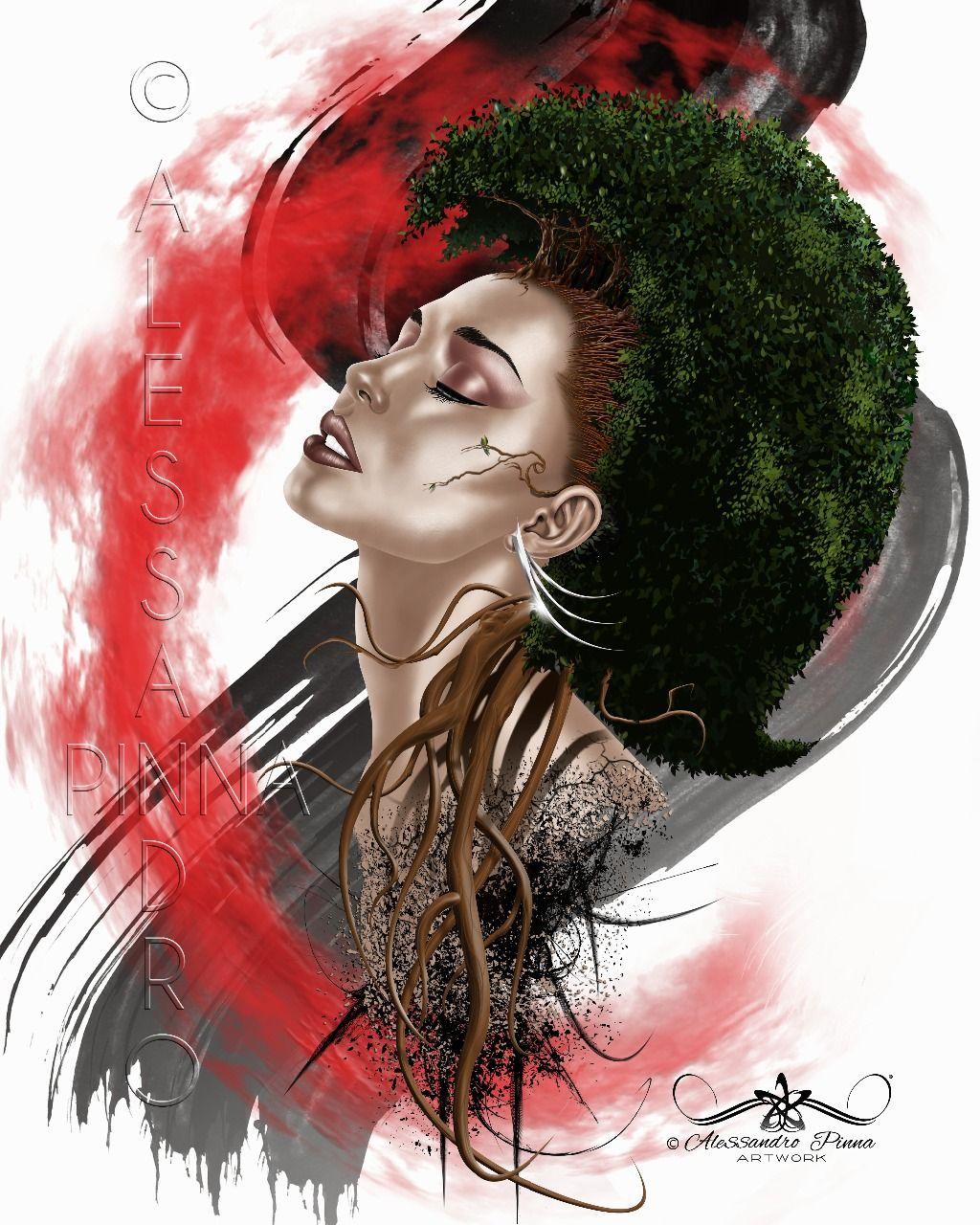 Mother nature 2.                                   Gallery art :: ALESSANDRO PINNA ARTWORK