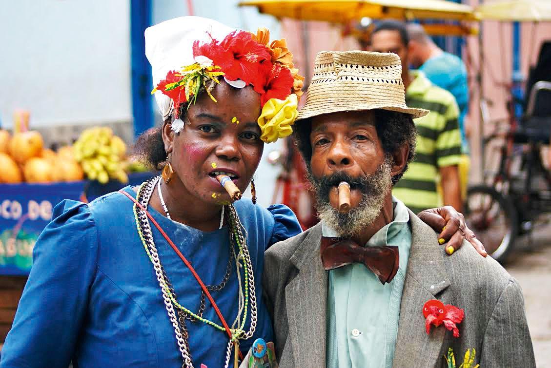 Antes de ir à Cuba, pesquisei muito e falei com muita gente, mas muitas coisas…