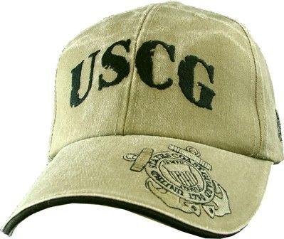 U.S. COAST GUARD Baseball Cap - Meach's Military Memorabilia & More