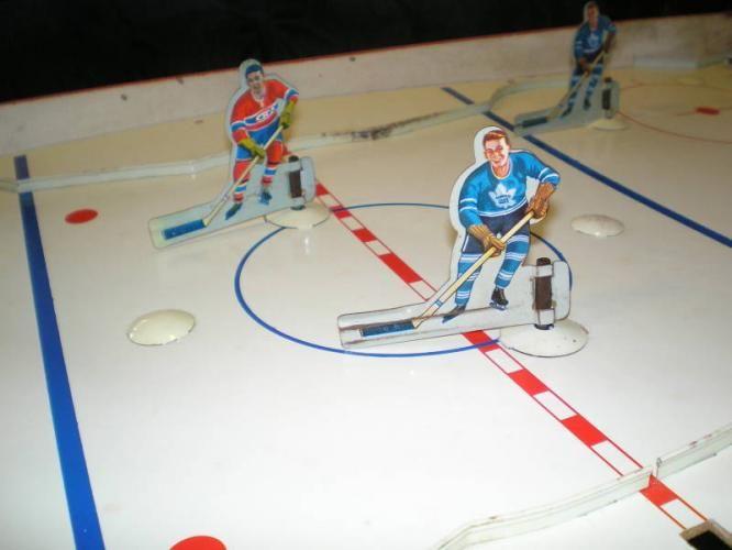 Vintage Table Hockey Game Hockey Hockey Games Hockey Vinyl Toys
