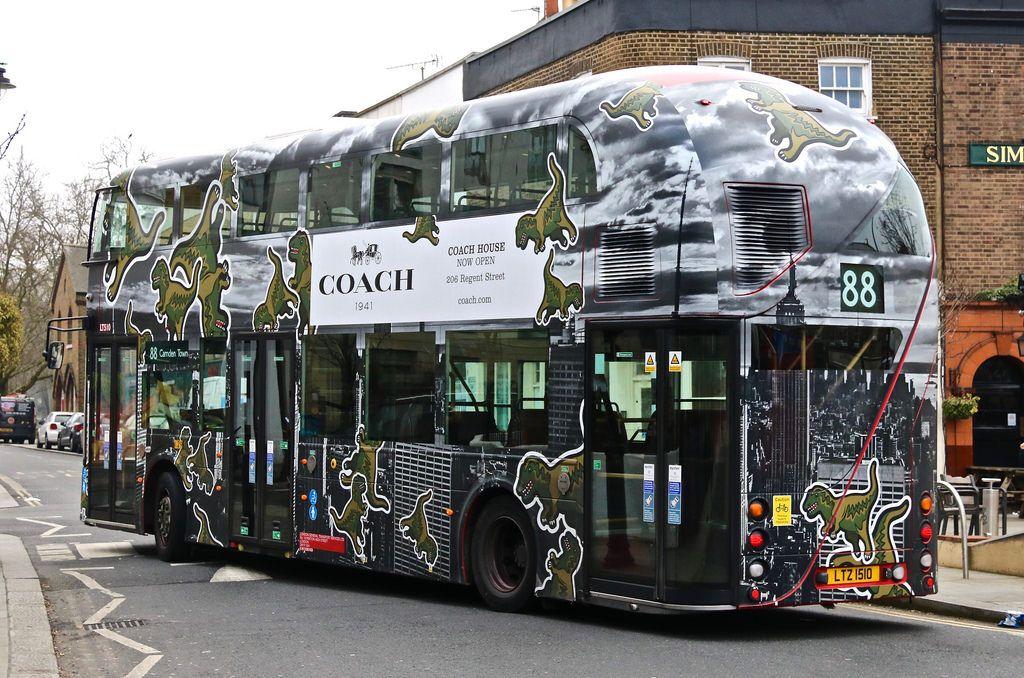 LT150 Bus coach, Double decker bus, New bus