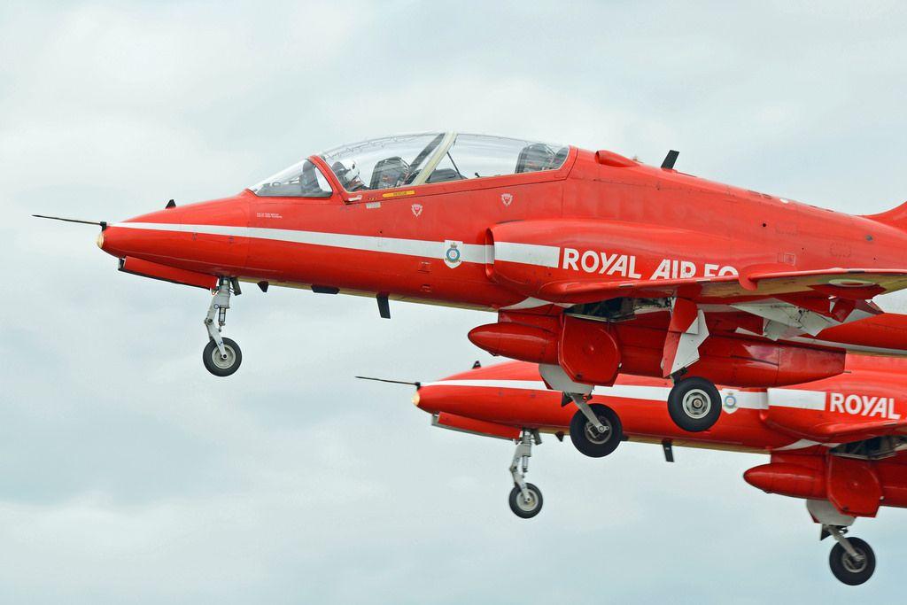 RAF Red Arrows - RIAT 207