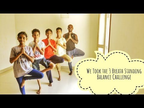 3 breath hold standing balance challenge with samrat