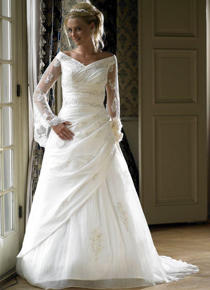 Awesome Modest Wedding Dresses WEDDING HAIRDOS FOR THE PLUS SIZE ...