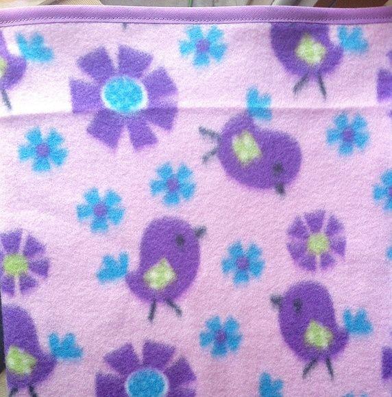 Cobertor Soft Pets Passarinhos - 50x50cm Birds Pet Blanket