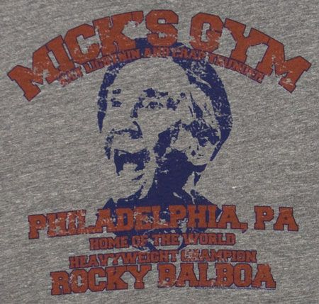 Camiseta Rocky. Mik's Gim