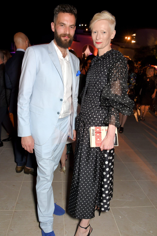 We Can T Get Enough Of Tilda Swinton And Sandro Kopp S Unconventional Romance Tilda Swinton Fashion Vanity Fair