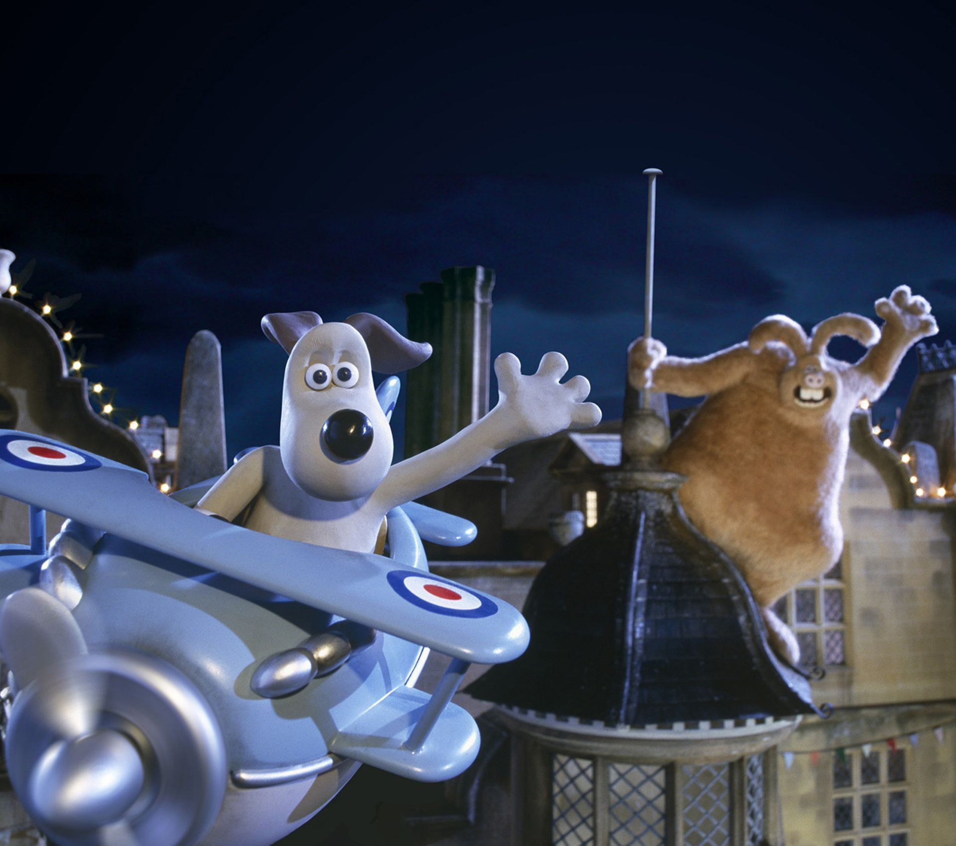 Image result for wallace and gromit curse of the were rabbit