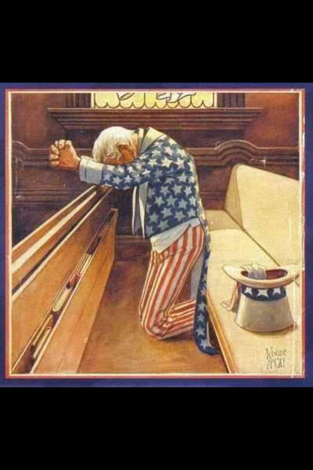 Praying for our country~
