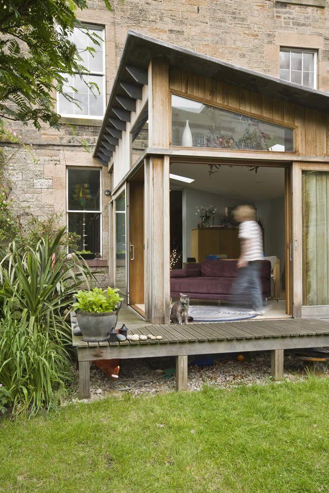 Edinburgh Decking Bespoke Garden Decking: Another Fantastic Timber Extension By Helen Lucas