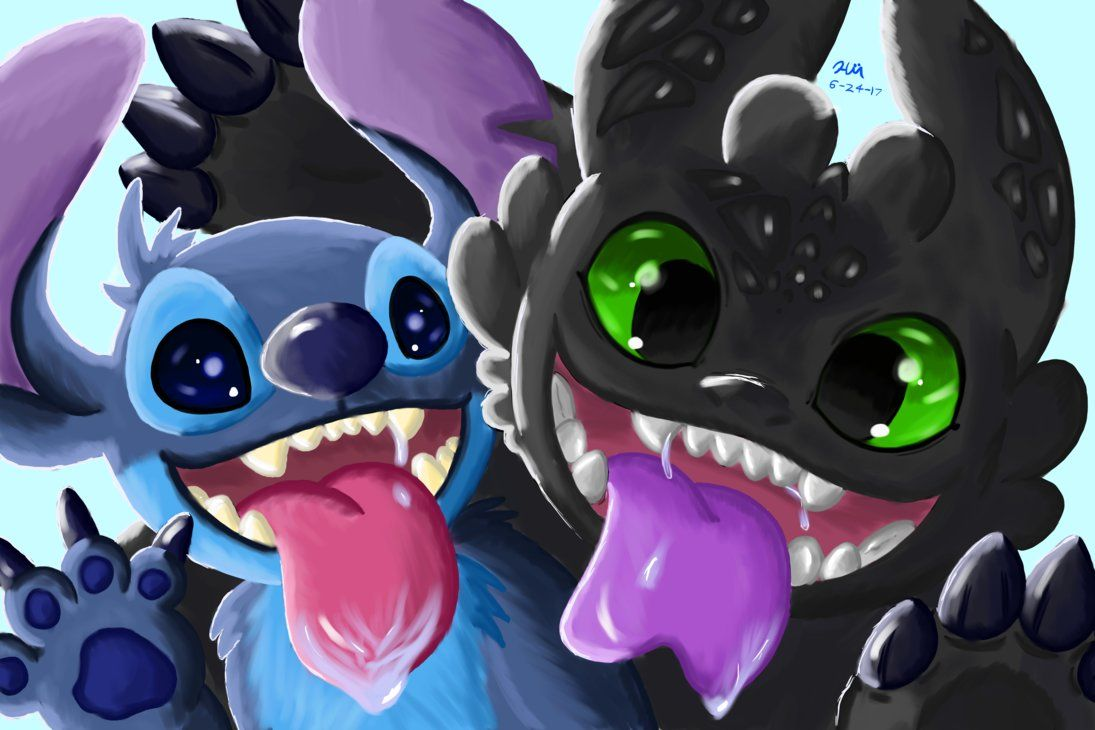 Pin By Nog8 On Stitch Toothless And Stitch Cute Disney Wallpaper Disney Wallpaper