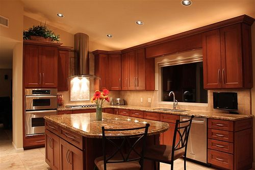 Paint colors that go with cherry wood cabinets cabinet for Cherry wood paint for kitchen cabinets