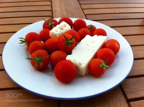 white cheese & tomatoes by SonerRecainer  IFTTT 500px