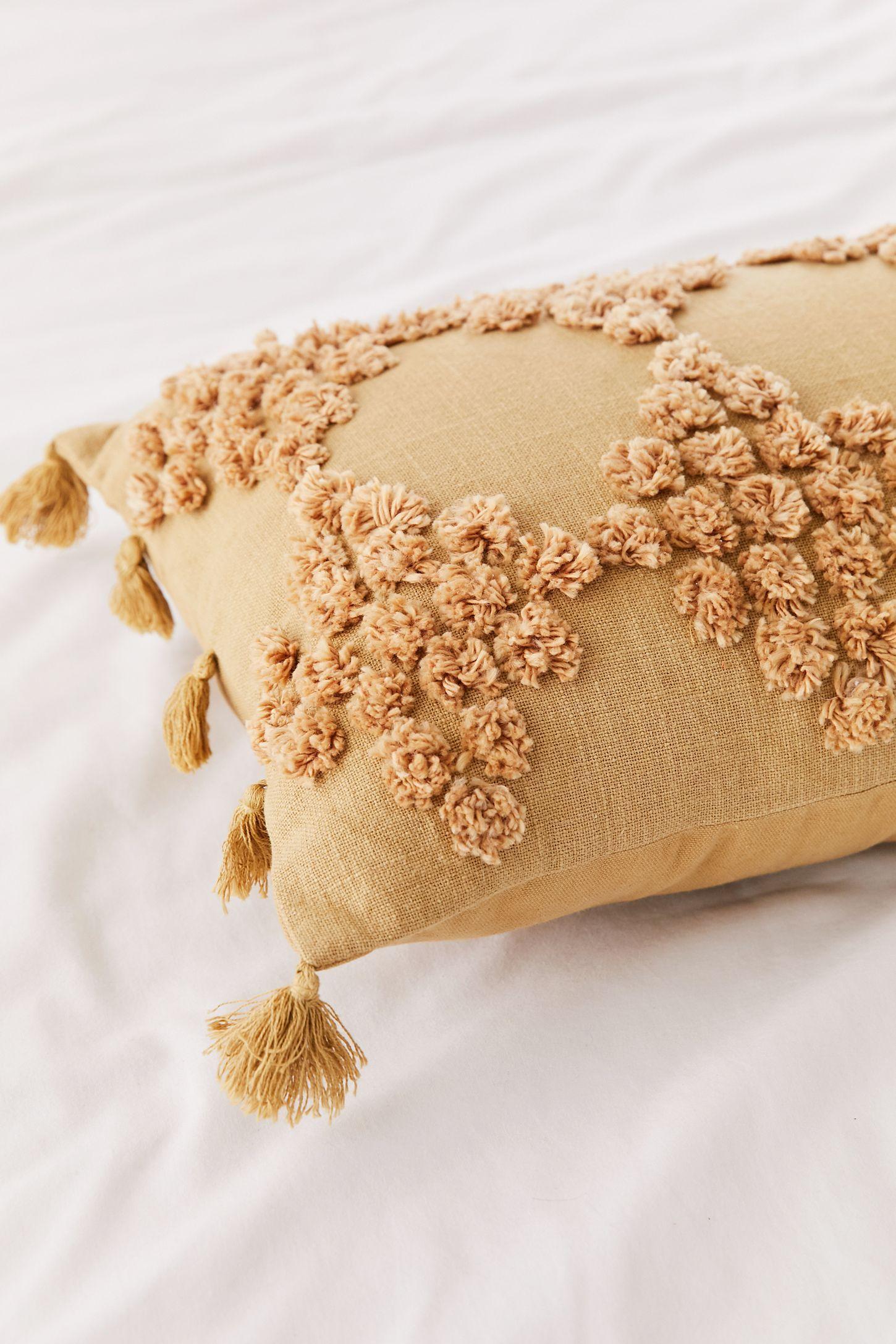 Tufted Geo Bolster Pillow | Bolster