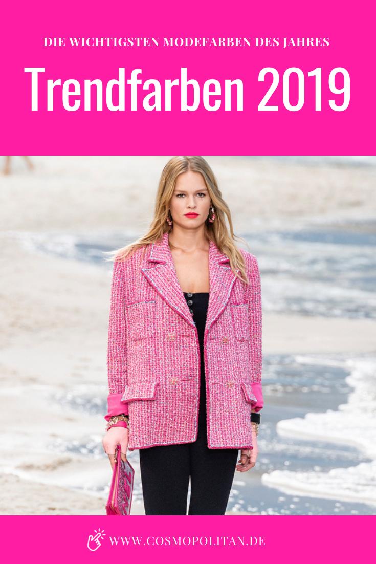 Trendfarben 2019 Die Wichtigsten Modefarben Des Jahres W45 2018
