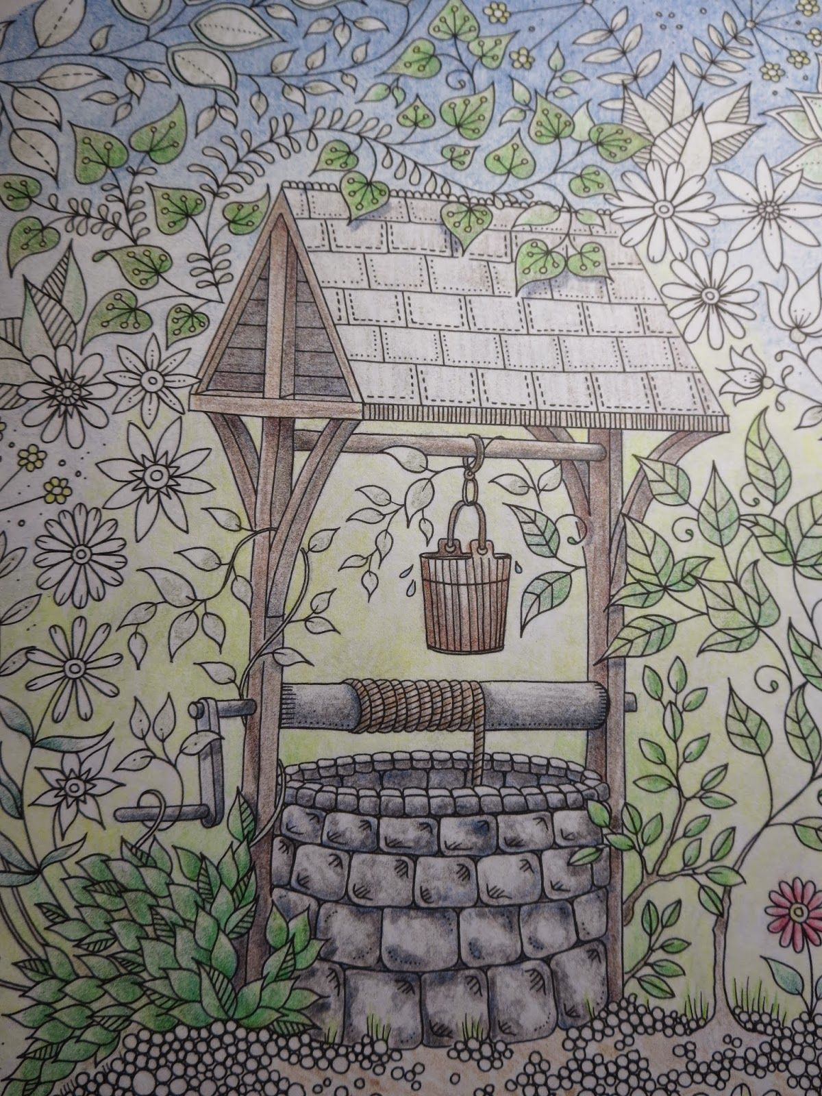 Passion For Pencils My Secret Garden Colouring Book Part 2 Art