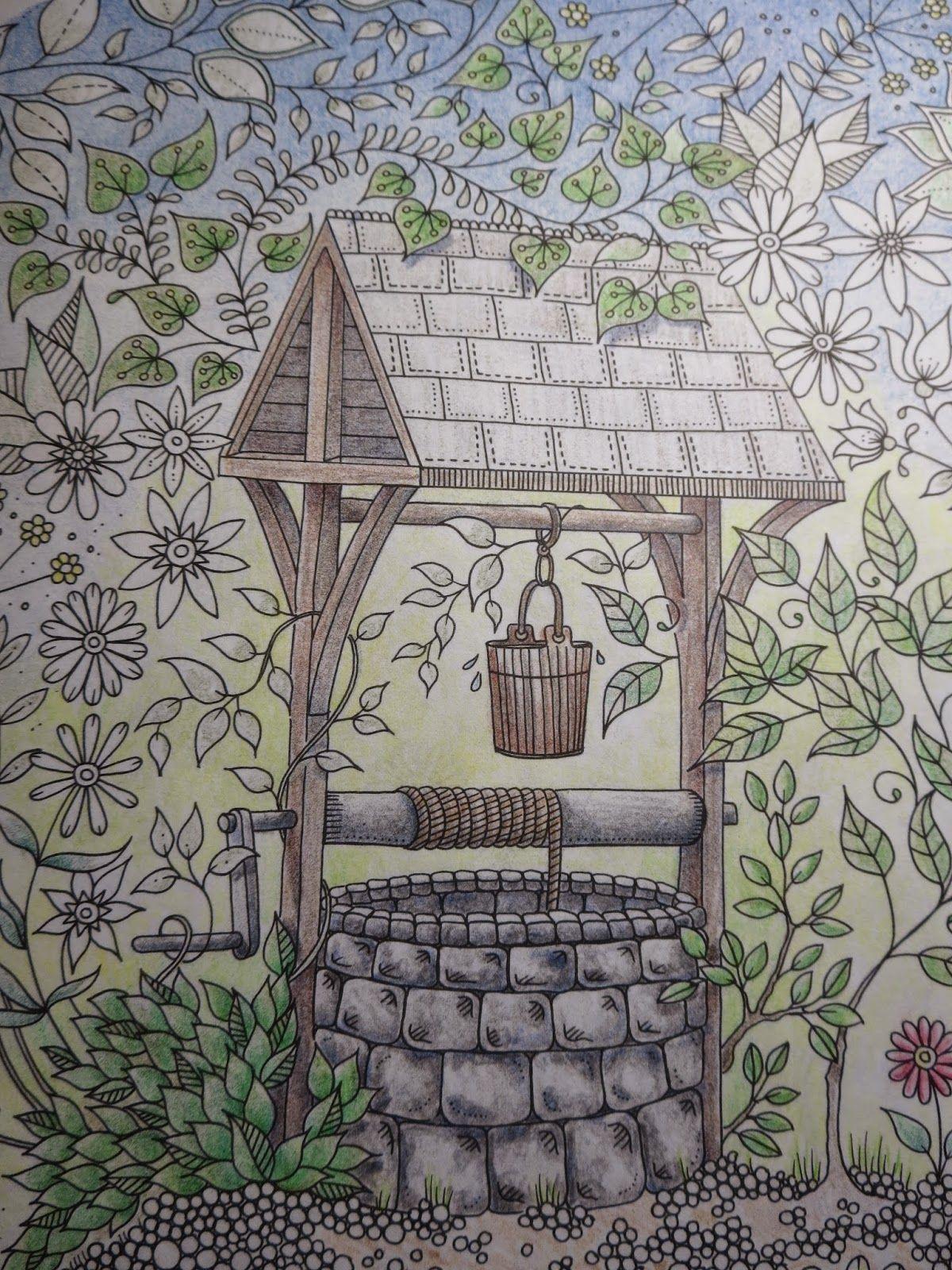 Passion For Pencils My Secret Garden Colouring Book Part 2