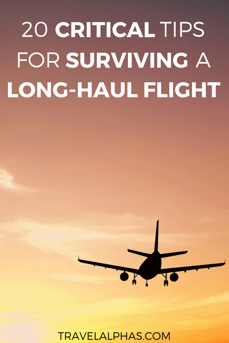 Are You Going On An International Trip Or Vacation Soon This Post Includes 20 Crucial Tips For Surviving Long Haul Flights These Will Undoubtedly