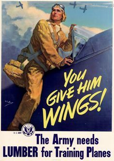 25 Awesome Vintage Air Force Recruitment Posters | WWII