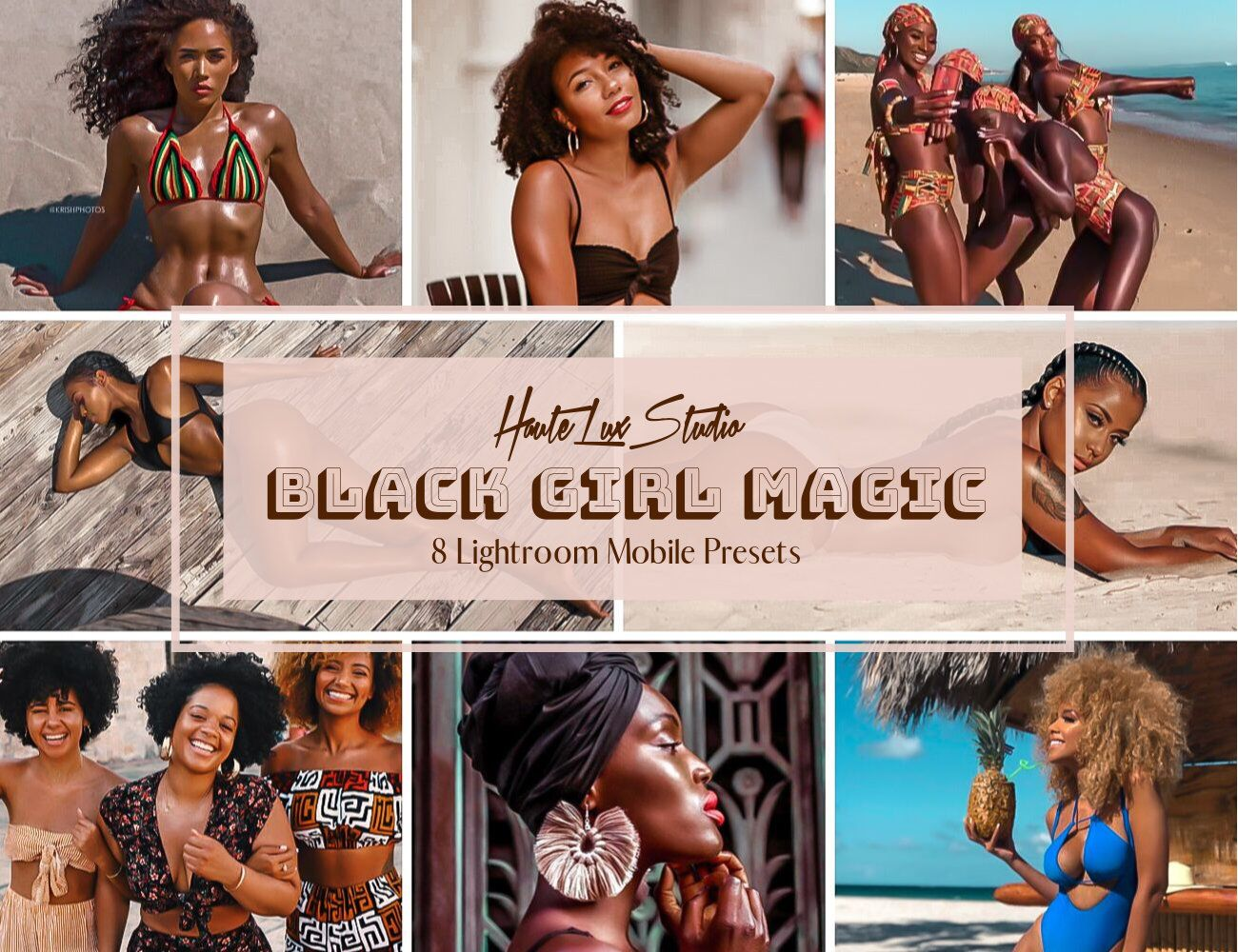 8 Black Girl Magic Presets Melanin Poppin Presets Lightroom Etsy In 2021 Lightroom Presets Lightroom Lightroom Effects