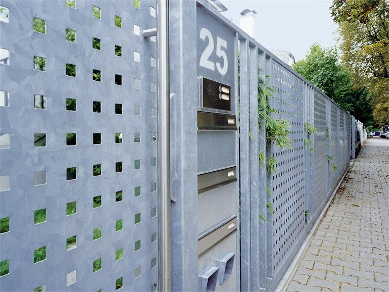 Pierced And Stretched Sheet Metal Perforated Sheets Square Holes By Mevaco Usadba Zabor