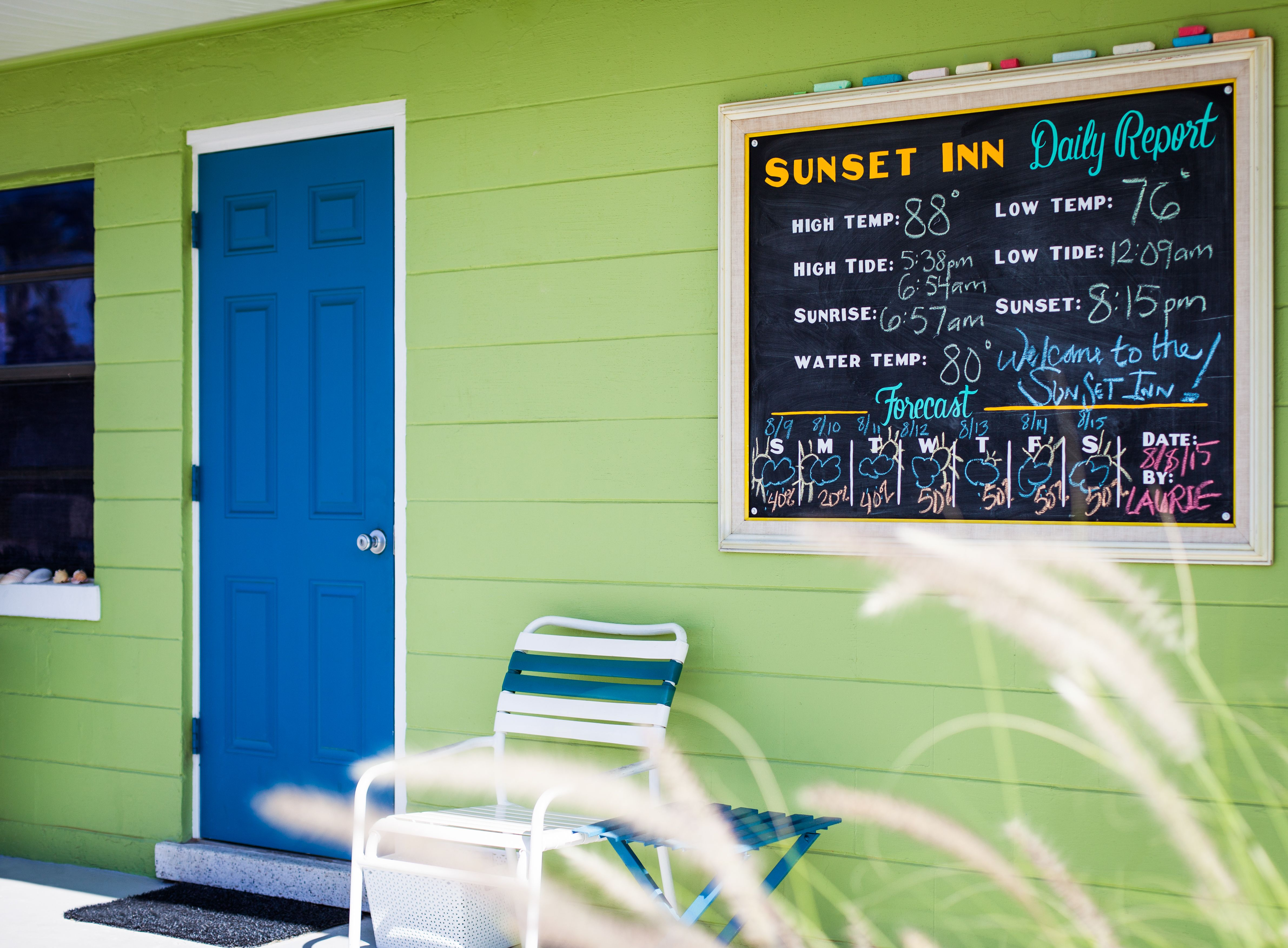 Sunset Inn Cottages Daily Report Treasure Island Madeira Beach Great Places