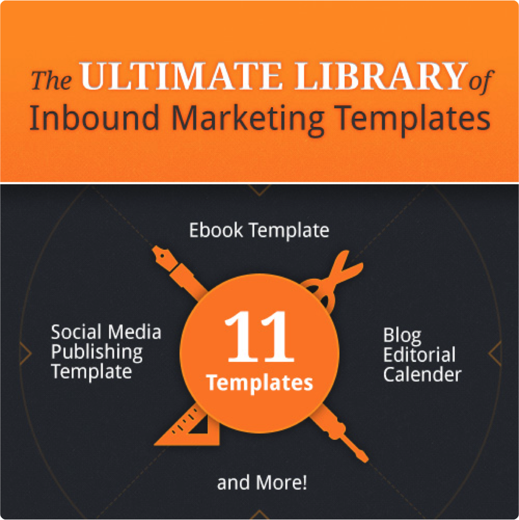The Ultimate Library of Inbound Marketing Templates from Hubspot ...
